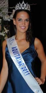 Claire Zengerlin (Miss Aquitaine 2011)