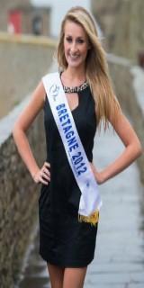 Estelle Sabathier (Miss Bretagne 2012)