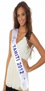 Hinarani De Longeaux (Miss Tahiti 2012)