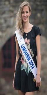 Sandra Longeaud (Miss Limousin 2012)