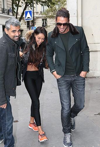 Nabilla et Thomas à la rentrée NRJ le 17 septembre 2013