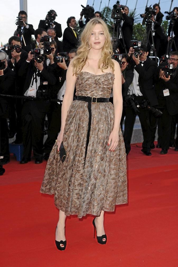 Festival de Cannes 2010 : la robe Louis Vuitton de Léa Seydoux