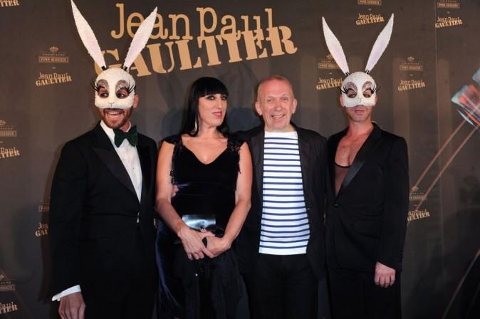 Cannes 2011 : Jean-Paul Gaultier et Rossy de Palma