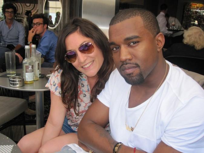 Et une petite photo avec Kanye West, et une !