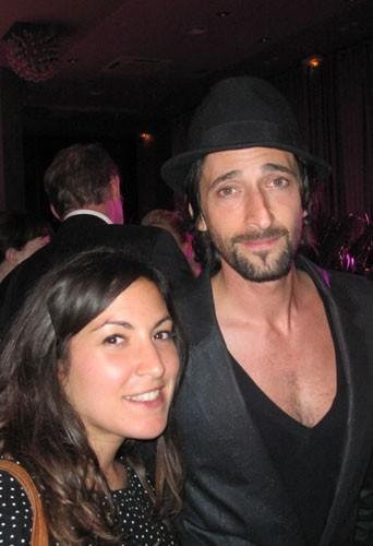 Cannes 2011 : Et une petite photo avec Adrien Brody au passage !