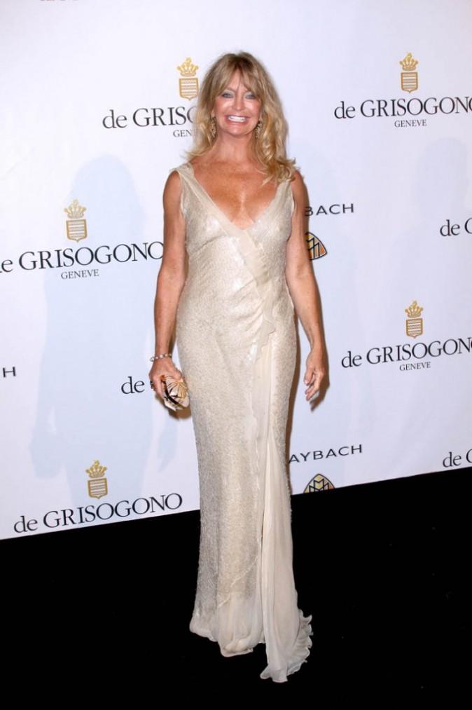 Goldie Hawn lors de la soirée De Grisogono à Cannes, le 17 mai 2011.
