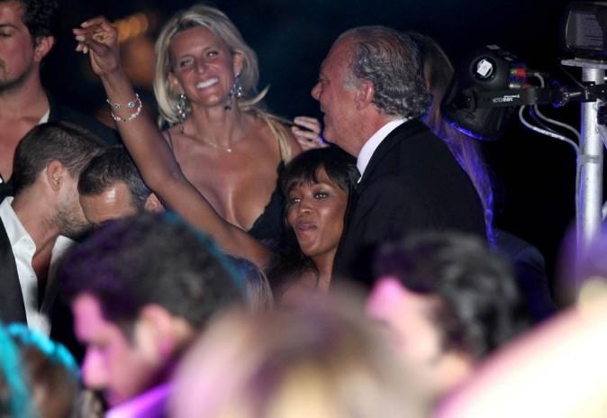 Naomi Campbell lors de la soirée De Grisogono à Cannes, le 17 mai 2011.