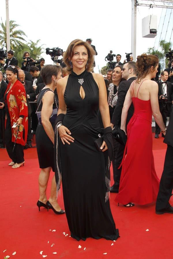 La star du petit écran, une vraie diva à Cannes !