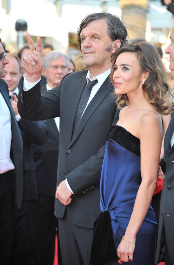 """Avec le président du jury de la sélection """"Un certain regard"""", Emir Kusturica"""
