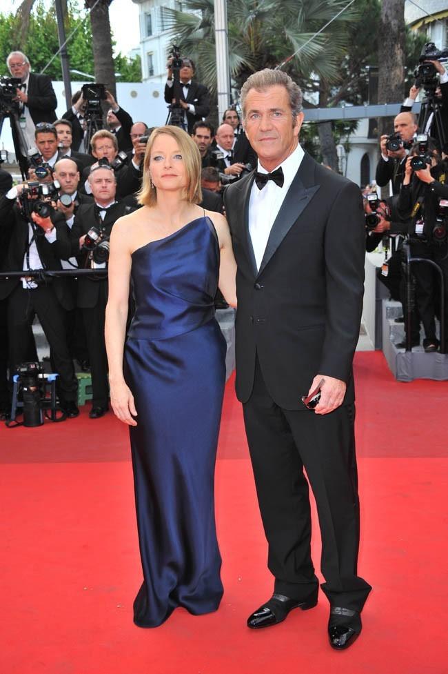 Une des rares photos où Mel Gibson a l'air normal...