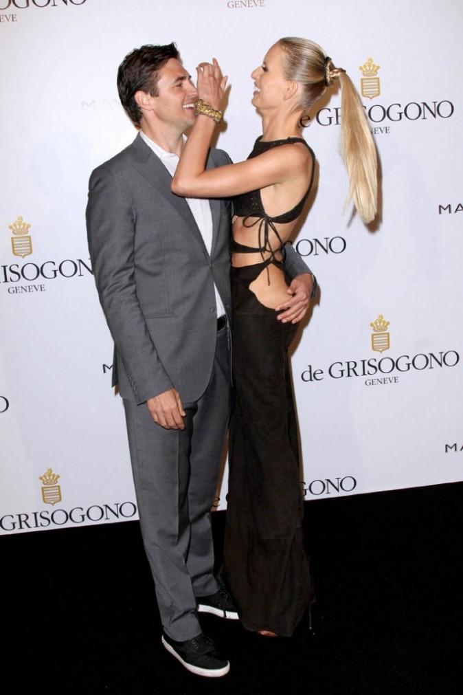 Karolina kurkova et son fiancé Archie Drury lors de la soirée De Grisogono à Cannes, le 17 mai 2011.