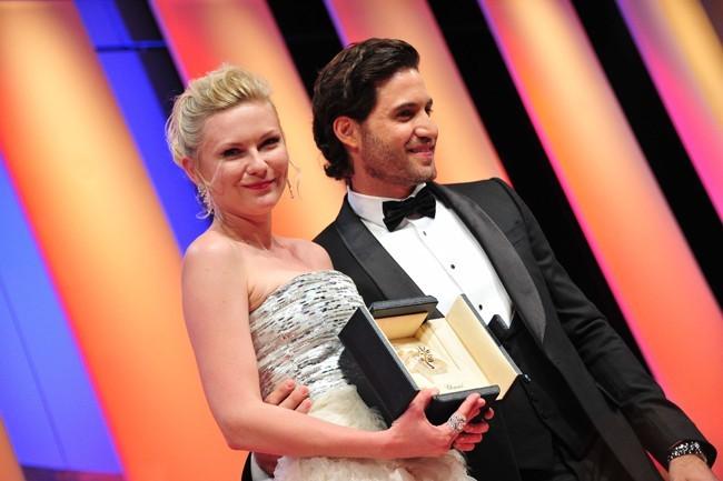Kirtsten Dunst meilleure actrice de Cannes 2011
