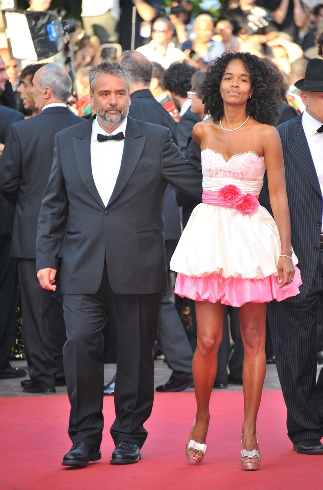Luc Besson et sa femme Virginie. Les producteurs arrivent !
