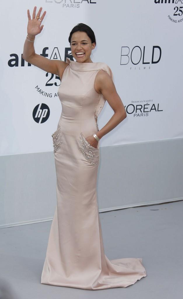 Photos : Cannes 2011 : applaudissez bien fort, Michelle Rodriguez !