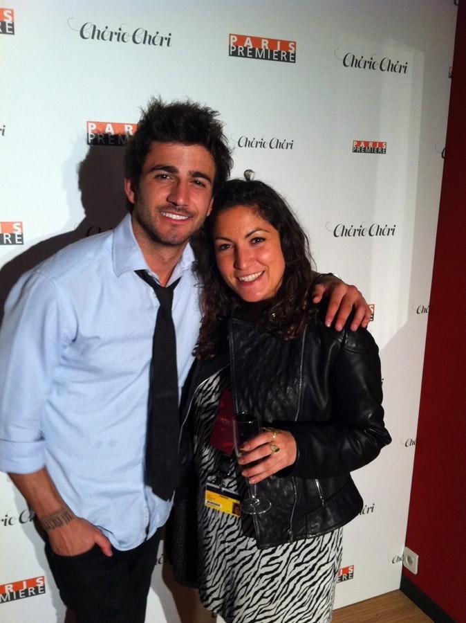 Cannes 2011 : Cyril Paglino avec notre rédactrice, Leslie