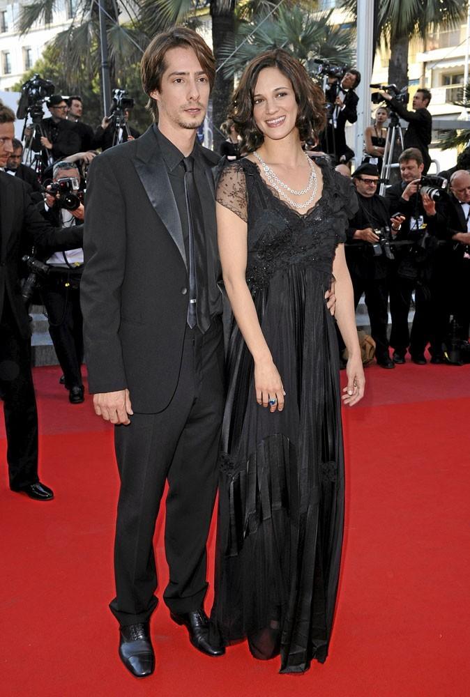 Cannes 2010 : le couple de stars Michele Civetta et Asia Argento