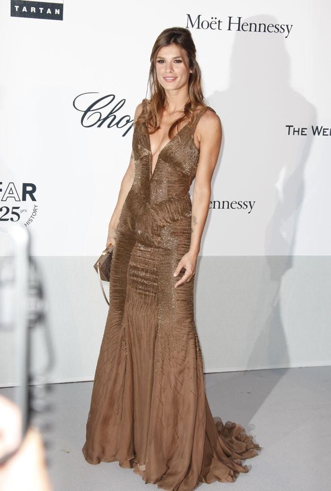 Cannes 2011 : Gala de l'AmfAR : Elisabetta Canalis