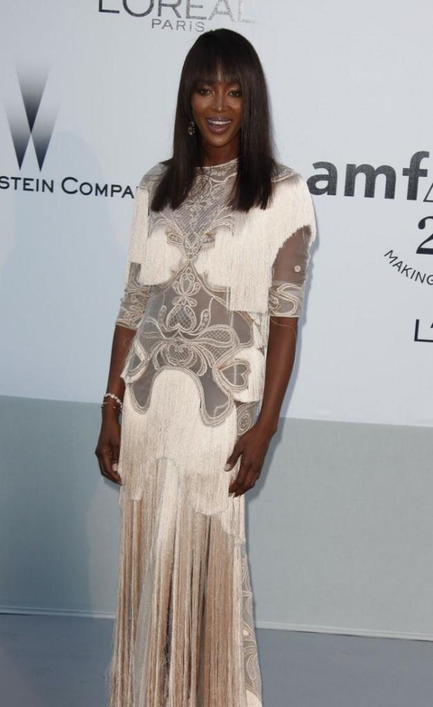 Cannes 2011 : Gala de l'AmfAR : la panthère était venue minauder