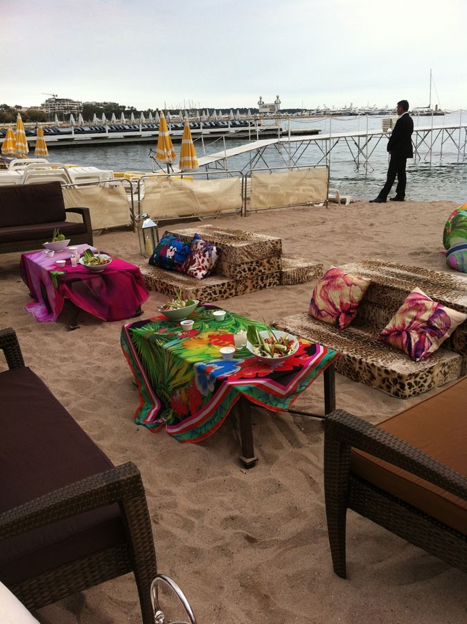 Photos : Cannes 2011 : la plage du Miramar