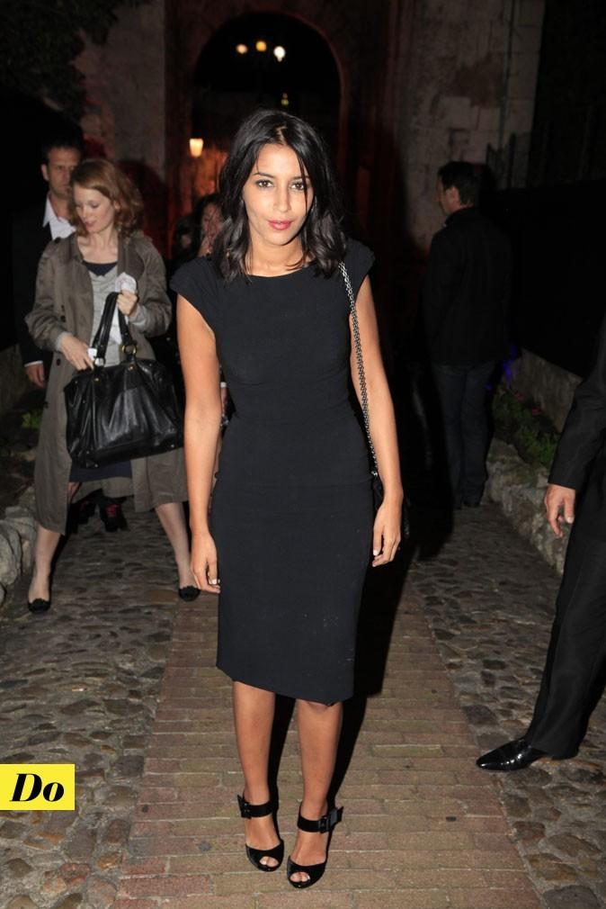 Festival de Cannes 2011 : la petite robe noire de Leïla Bekhti