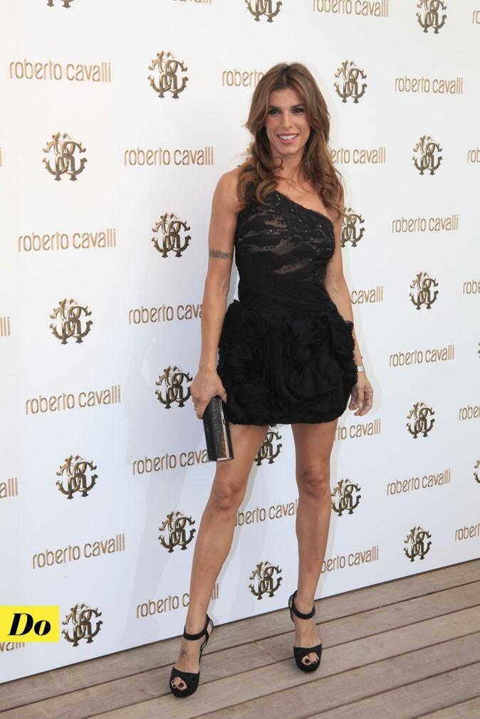 Festival de Cannes 2011 : la robe courte asymétrique d'Elisabetta Canalis