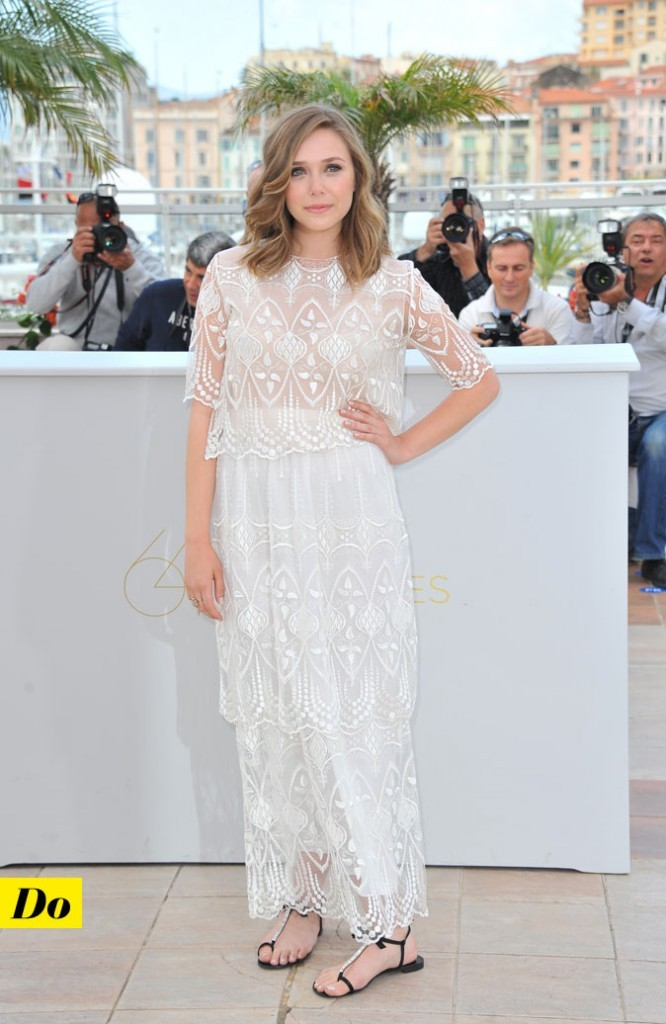 Festival de Cannes 2011 : la robe en dentelle The Row d'Elizabeth Olsen
