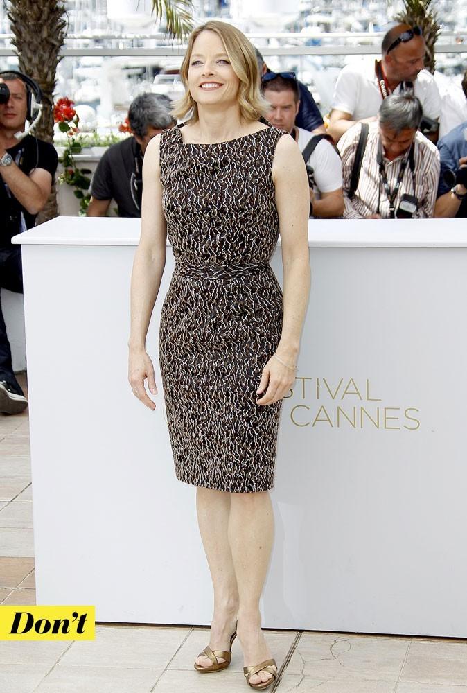 Festival de Cannes 2011 : la robe tube de Jodie Foster
