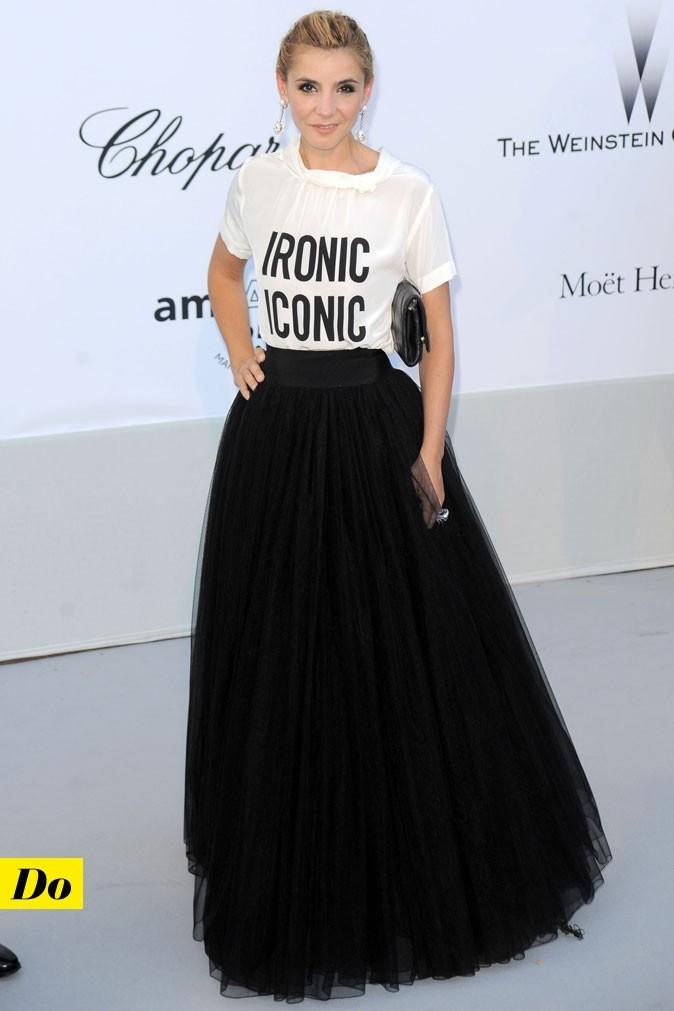 Festival de Cannes 2011 : le look mix and match de Clotilde Courau