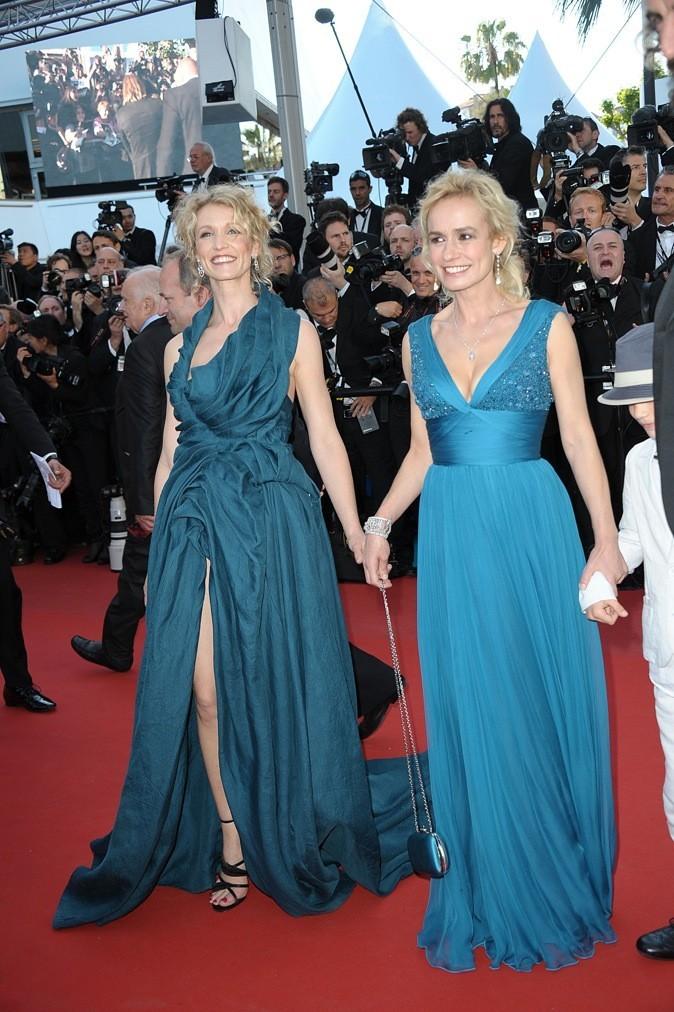 Alexandra Lamy et Sandrine Bonnaire (mardi 22 mai)