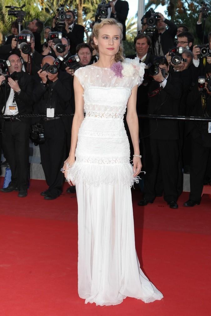 Diane Kruger en Nina Ricci (mardi 22 mai)