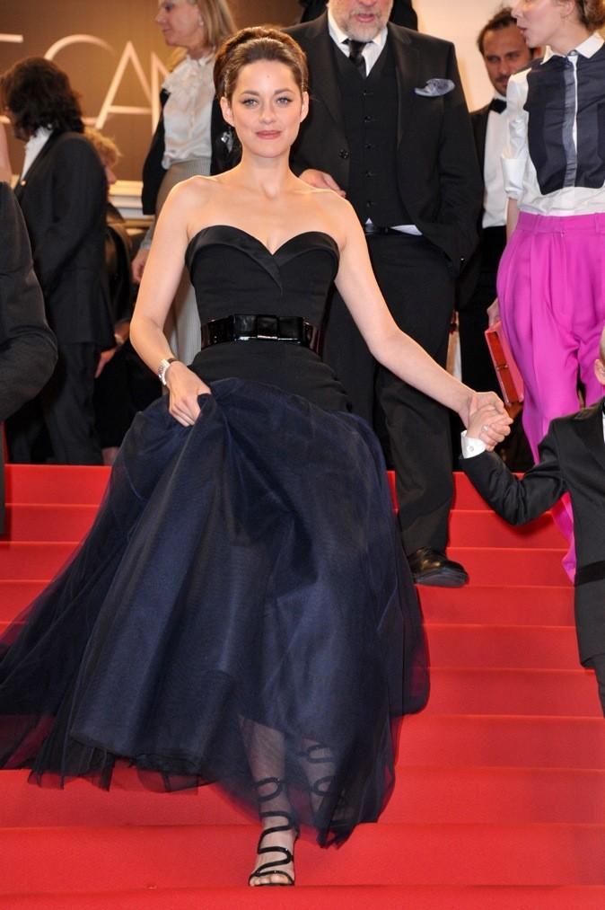Marion Cotillard en Christian Dior (jeudi 17 mai 2012)