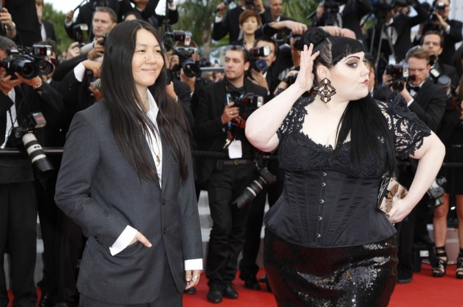 Cannes 2012 : Beth Ditto fait son show !