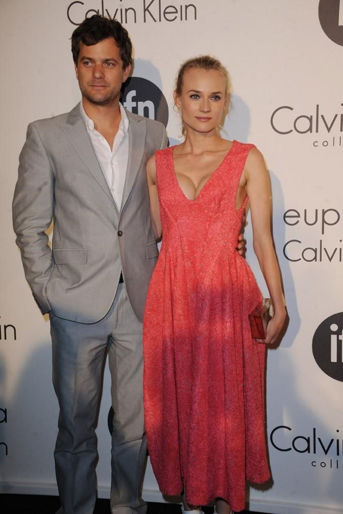 Joshua Jackson et Diane Krüger à la soirée Calvin Klein le 17 mai 2012