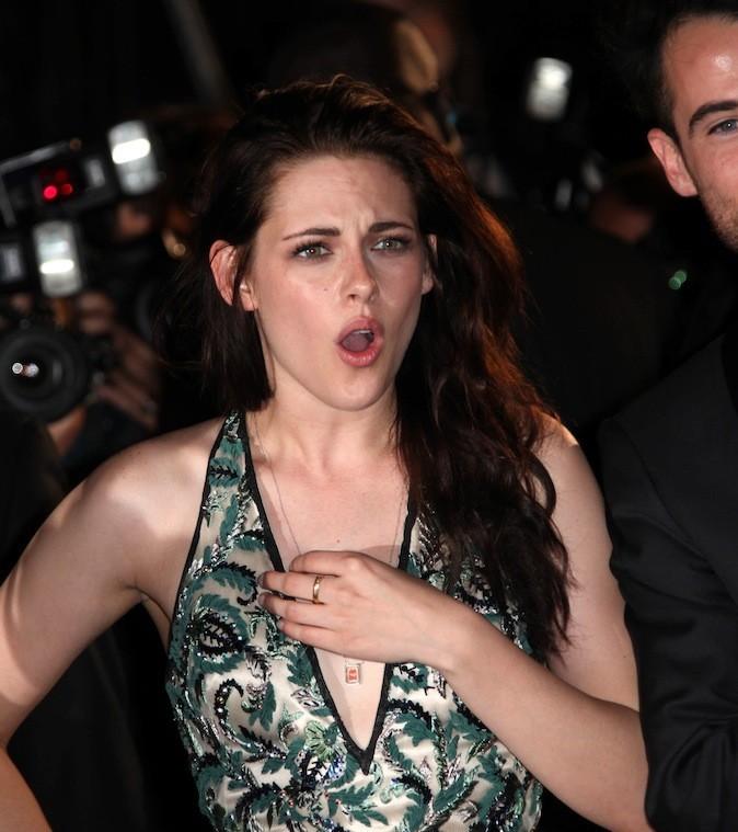 Kristen Stewart fait une drôle de tête !