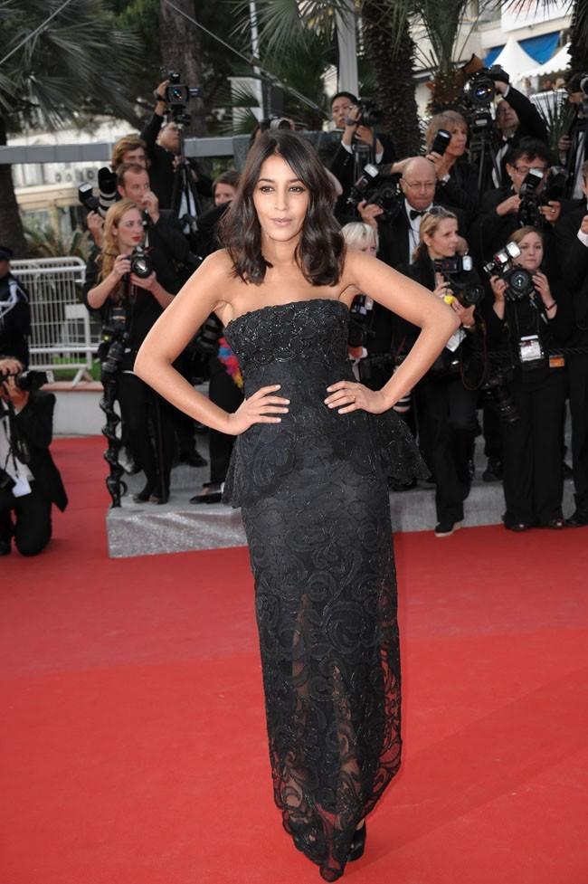 Leïla Bekhti le 18 mai 2012 au Festival de Cannes