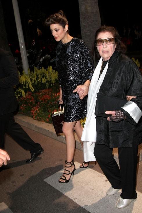 Marion Cotillard à la soirée Dior-ELLE le 17 mai 2012