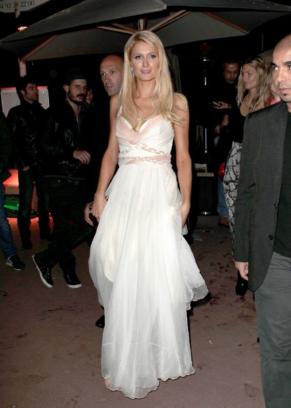 Pas de paillettes mais une robe de princesse !