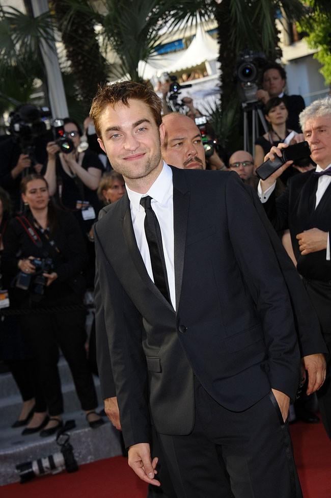 Robert Pattinson, à l'aise sur le red carpet...