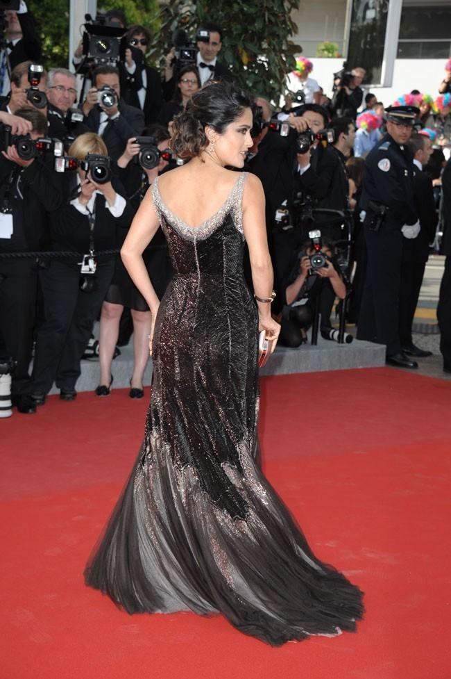Salma Hayek le 18 mai 2012 au Festival de Cannes