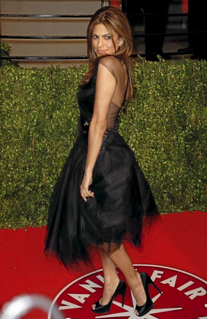 Eva Mendes, pour le film Holly Motors