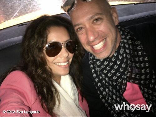 Eva et Robert Verdi, en route pour l'aéroport