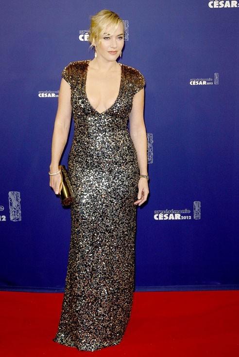 Kate Winslet, l'Hollywoodienne à Paris !