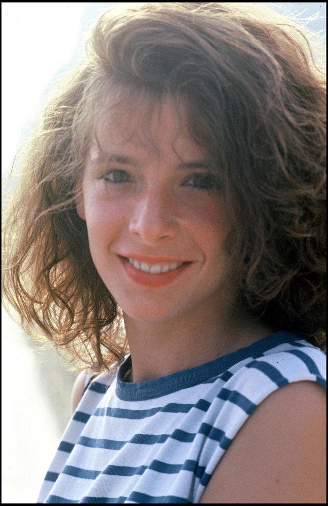 Mylène Farmer au naturel en 1985