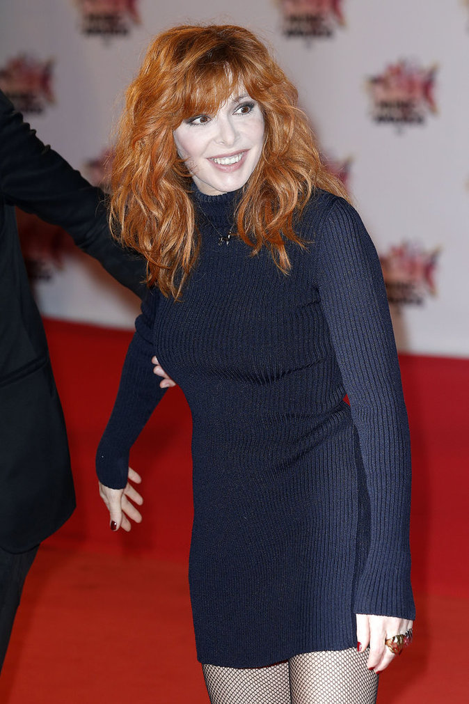 Mylène Farmer aux NRJ Music Awards, Cannes 2015