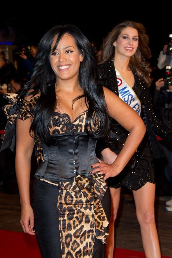 Etre Miss France, c'est aussi se faire passer devant par Amel Bent..