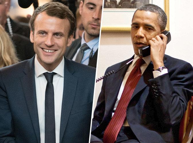 Présidentielle 2017 : Ce que Barack Obama a dit à Emmanuel Macron