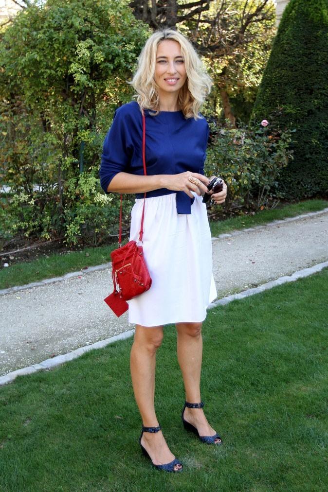 Défilé Dior : Alexandra Golovanoff