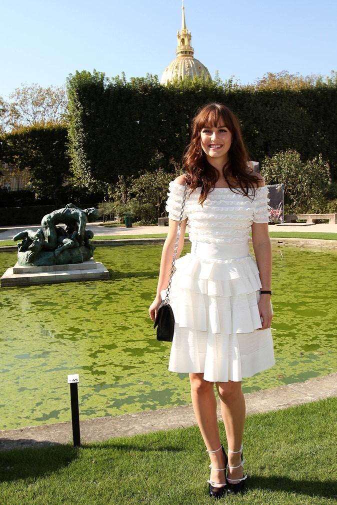 Défilé Dior : Leighton Meester