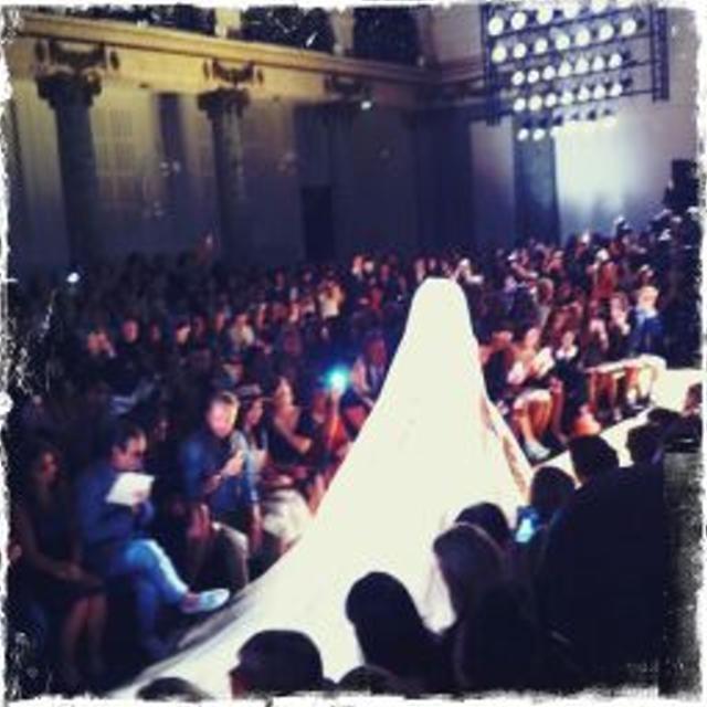 Fashion Week Couture Paris hiver 2013 : défilé Elie Saab