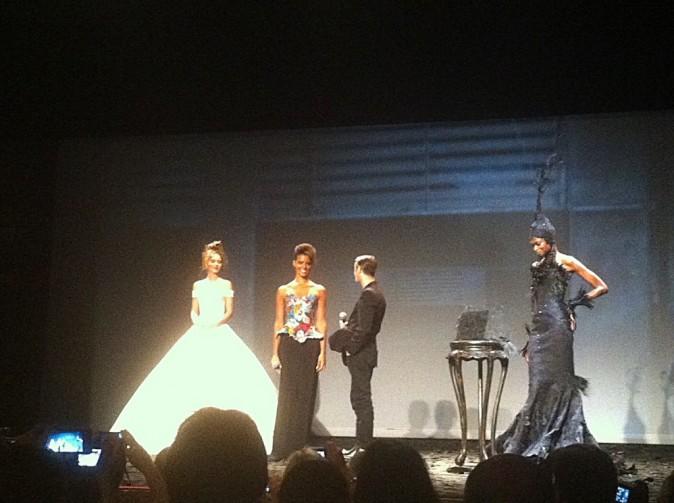Fashion week Paris Couture hiver 2013 : le défilé Franck Sorbier !